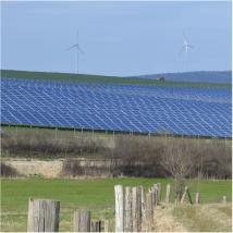 Sauberer Strom für Wolfhagen: Der Solarpark der Stadtwerke erzeugt rund 10 Millionen Kilowattstunden im Jahr.