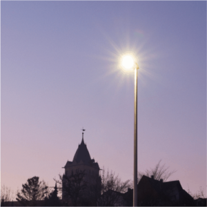 LED Straßenbeleuchtung Stadtwerke Wolfhagen