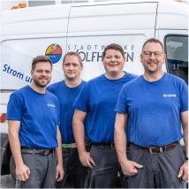 Ihr Anschluss an das Versorgungsnetz des Stadtwerke Wolfhagen GmbH