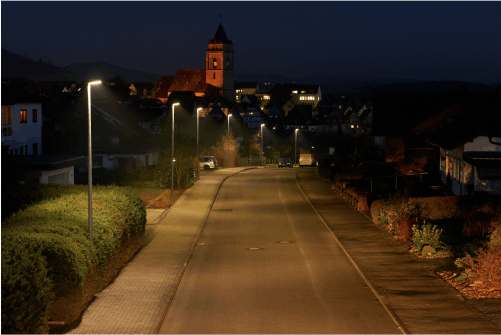 Lichttechnische Berechnungen, Antragsstellung, Bauüberwachung ... - viele Kommunen konnten die Stadtwerke Wolfhagen bei der Beluchtungsplanung unterstützen.
